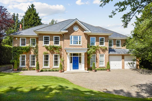Thumbnail Detached house for sale in Spicers Field, Oxshott, Leatherhead, Surrey