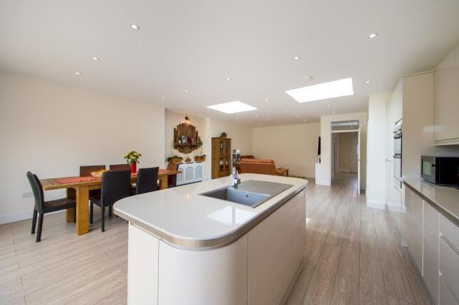Kitchen of Vivian Avenue, Wembley, Middlesex, England HA9