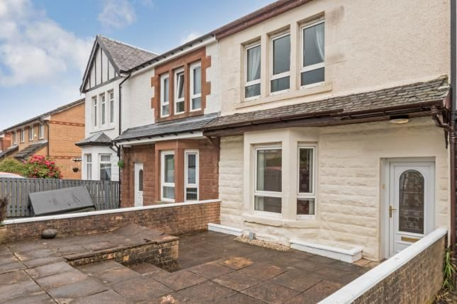 Thumbnail Terraced house for sale in Old Inverkip Road, Greenock, Inverclyde