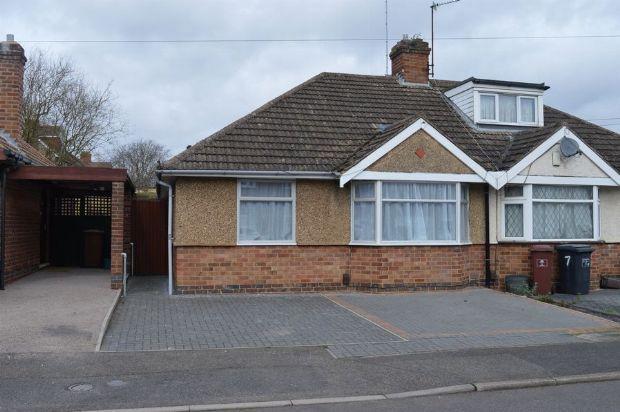 Thumbnail Semi-detached bungalow to rent in Stone Way, Duston Village, Northampton