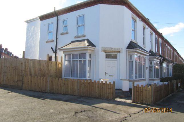 Thumbnail End terrace house to rent in Springfield Road, Kings Heath, Birmingham