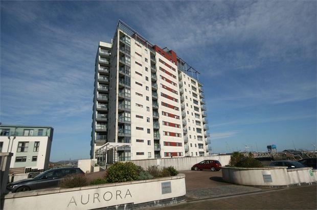 Thumbnail Flat for sale in Aurora, Maritime Quarter, Swansea