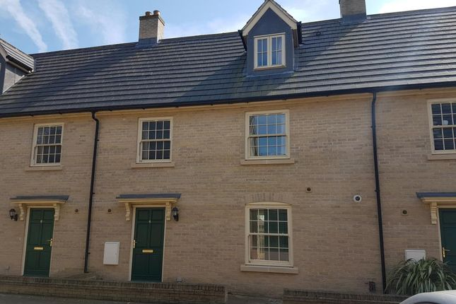Thumbnail Terraced house to rent in Ascot Close, Exning
