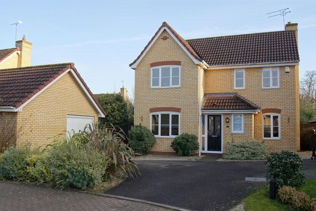 Thumbnail Detached house for sale in Radnor Close, Bury St. Edmunds
