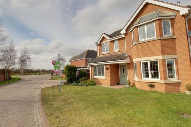 4 bed detached house for sale in Calder Drive, Snaith, Goole DN14