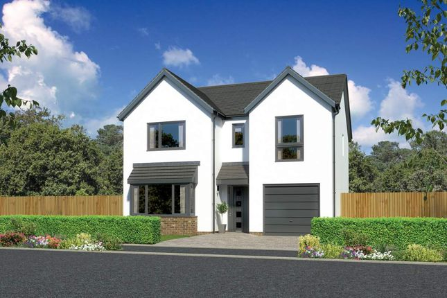 "Thumbnail Detached house for sale in ""Hampsfield"" at Kingswells, Aberdeen"