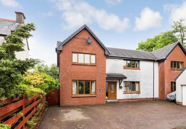 Thumbnail Detached house for sale in Castlepark Gardens, Fairlie, Largs, North Ayrshire