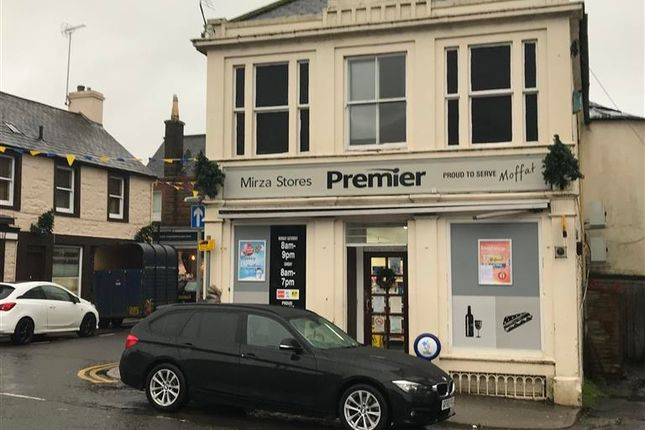 Thumbnail Retail premises for sale in Moffat, Dumfries & Galloway