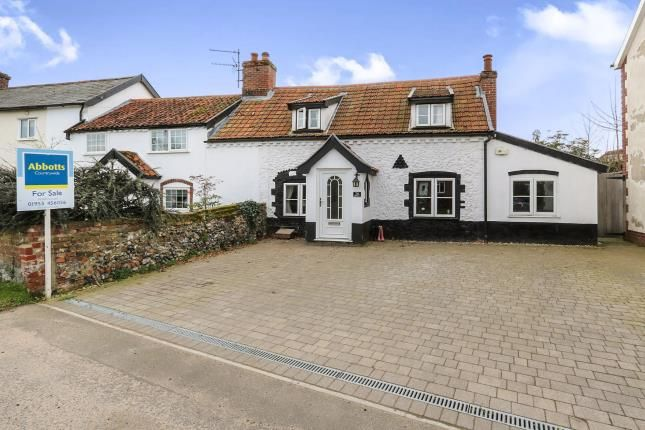 Thumbnail End terrace house for sale in East Harling, Norwich, Norfolk