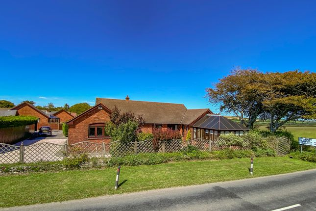 Thumbnail Detached bungalow for sale in Rosecott Park, Kilkhampton, Bude