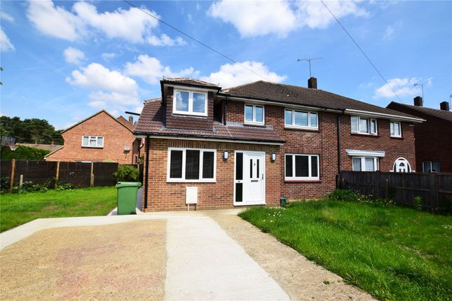 Thumbnail Semi-detached house to rent in Saddleback Road, Camberley, Surrey