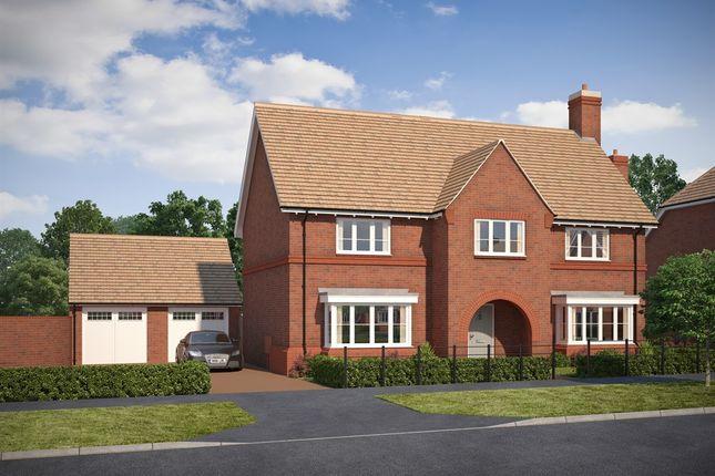 Thumbnail Detached house for sale in Tadpole Garden Village, Blunsdon, Swindon