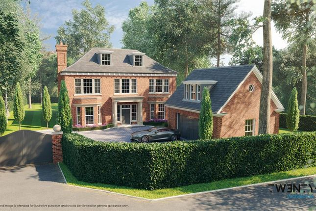 Thumbnail Detached house for sale in Monks Walk, Ascot