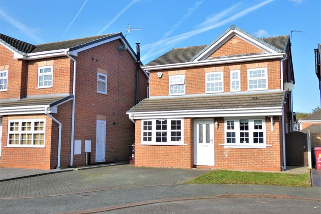 Thumbnail Detached house for sale in Hazelwood Grove, Halewood, Liverpool