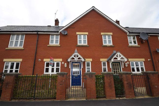 Thumbnail Terraced house to rent in Exmoor Close, Tiverton, Devon
