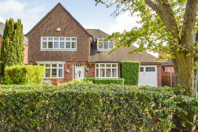 Thumbnail Detached house for sale in Manor Road Extension, Oadby, Leicester