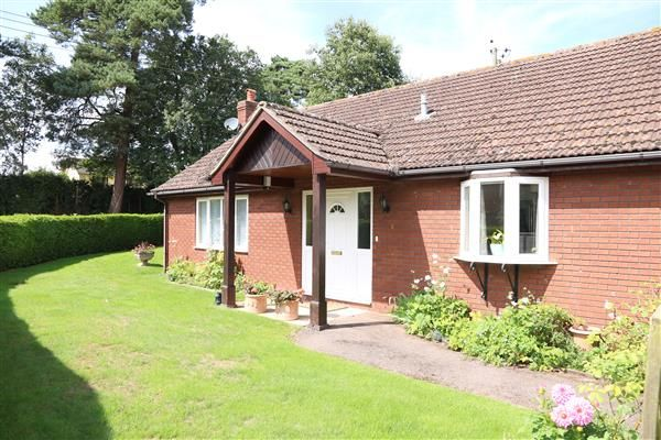 Thumbnail Detached bungalow for sale in Brampton Abbotts, Thistledown, Ross-On-Wye
