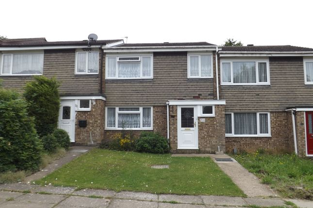 Thumbnail Terraced house to rent in Buttermere Close, Kempston