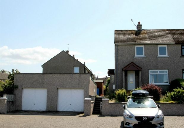Thumbnail Semi-detached house to rent in Fraser Avenue, Elgin, Moray
