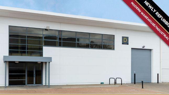 Thumbnail Industrial to let in Lutyens Industrial Centre, Kingsland Business Park, Basingstoke