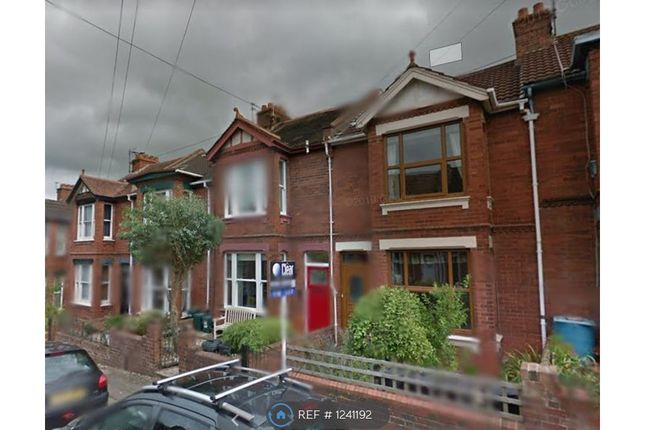 Thumbnail Terraced house to rent in Abbey Road, Exeter