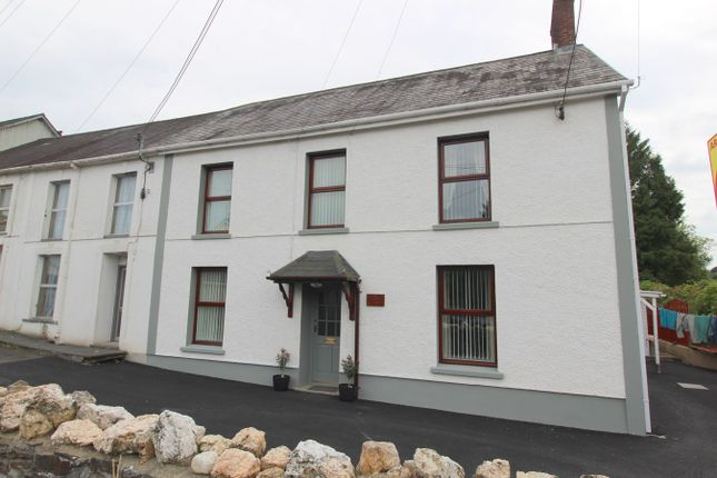 Thumbnail End terrace house for sale in Pencader, Carmarthen