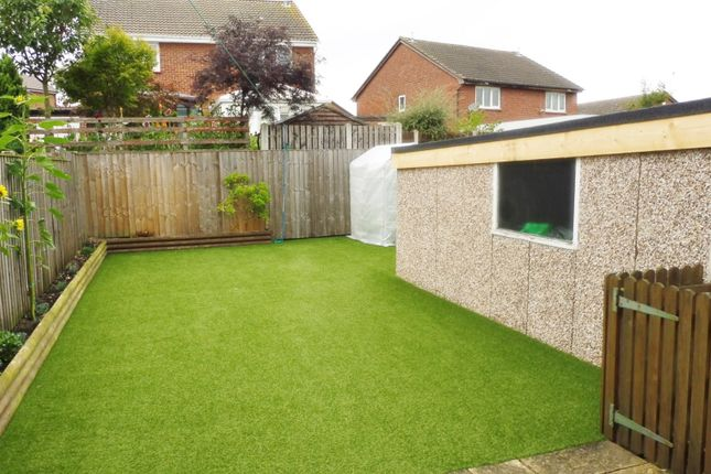 Rear Garden of Curlew Rise, Thorpe Hesley S61
