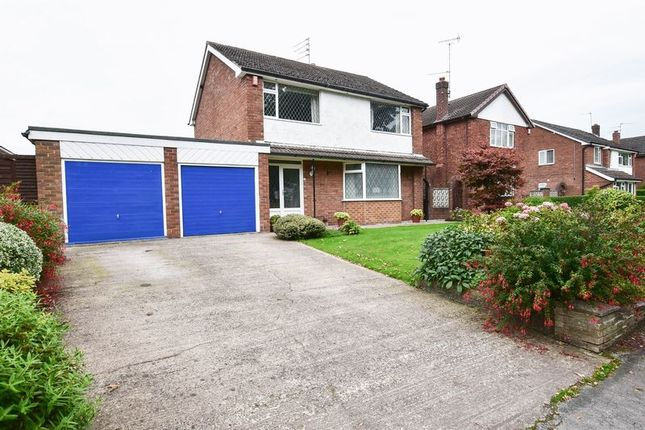 Thumbnail Detached house for sale in Holmes Chapel Road, Congleton