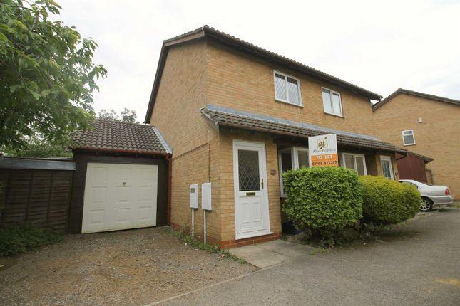 Thumbnail Semi-detached house to rent in Orne Gardens, Bolbeck Park, Milton Keynes