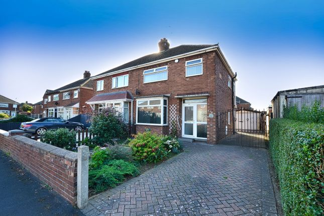 Thumbnail Semi-detached house for sale in Lunedale Road, Scunthorpe