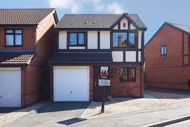 Thumbnail Detached house for sale in Turton Close, Bloxwich, Walsall