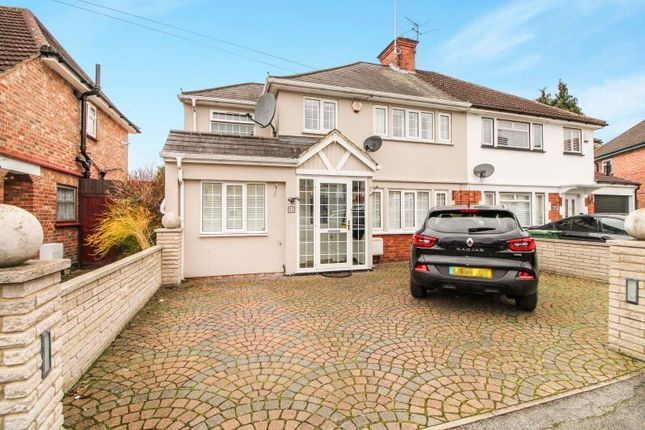 Thumbnail Semi-detached house to rent in The Chase, Watford