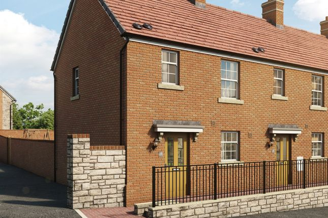 Thumbnail Semi-detached house for sale in Highfields, Tonyrefail, Porth