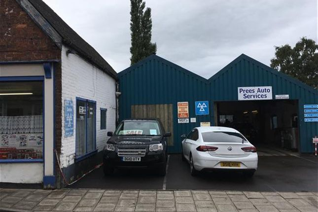 Thumbnail Commercial property for sale in Popular Well-Established Garage SY13, Shropshire