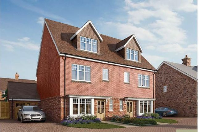 4 bed semi-detached house for sale in The Ashwoods, Alfold Road, Cranleigh GU6