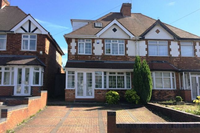 Thumbnail Semi-detached house to rent in Stechford Lane, Hodge Hill, Birmingham
