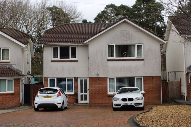 Thumbnail Detached house for sale in Clos Bevan, Gowerton, Swansea