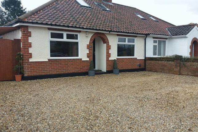 Thumbnail Semi-detached house for sale in Links Avenue, Hellesdon, Norwich
