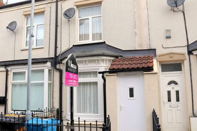 Thumbnail Terraced house to rent in Crossland Avenue, Holland Street, Hull, Yorkshire