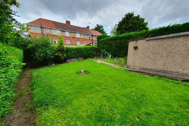 Garden of Ridgeway Road, Gleadless, Sheffield S12