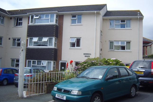 Thumbnail Flat to rent in Quinnell House, Teignmouth