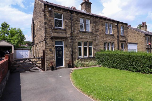 4 bed semi-detached house for sale in Longley Road, Lowerhouses, Huddersfield HD5