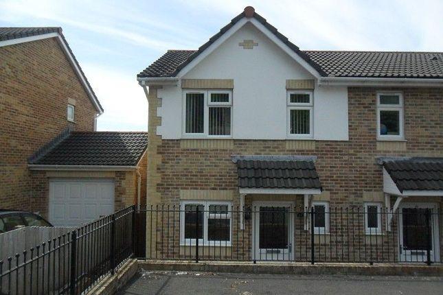Thumbnail Semi-detached house to rent in Bryn Morgrug, Alltwen, Pontardawe, Swansea