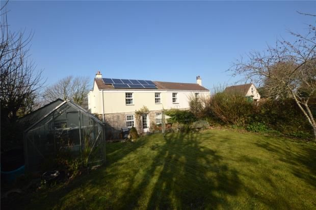 Thumbnail Semi-detached house for sale in Germoe, Penzance, Cornwall