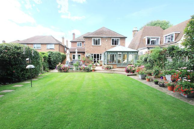 Rear Garden of Thornhill Road, Ickenham, Uxbridge UB10