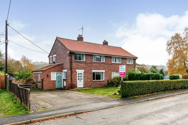 Thumbnail Semi-detached house for sale in Fir Close, Mundford, Thetford