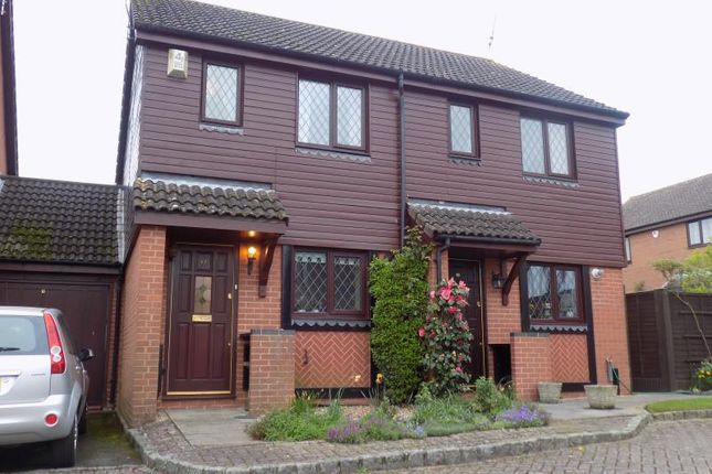 Thumbnail Semi-detached house to rent in Windmill Fields, Windlesham, Surrey