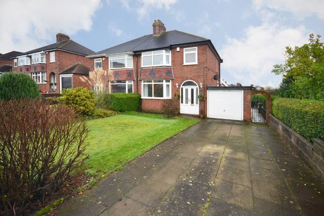 3 bed semi-detached house for sale in Horton Drive, Weston Coyney, Stoke-On-Trent, Gb