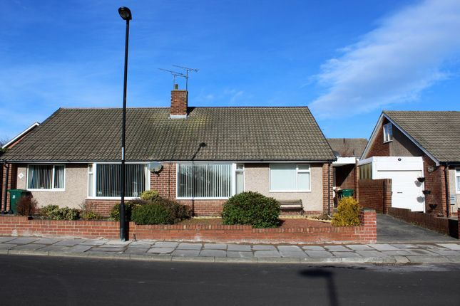 Thumbnail Semi-detached bungalow to rent in Carolyn Way, Whitley Bay