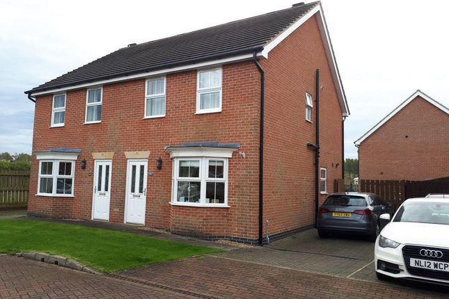 Thumbnail Semi-detached house to rent in Southwood Park, Driffield